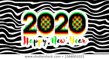Modernes nombre effet happy new year Photo stock © ussr