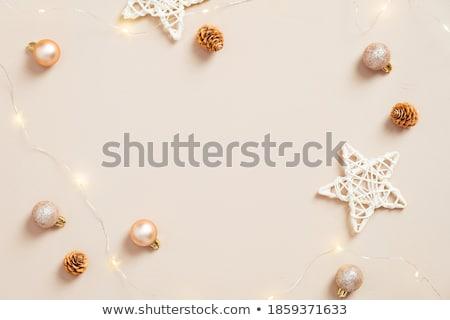 Bal goud sterren flash weinig stralen Stockfoto © blackmoon979