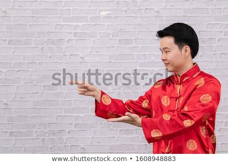 Homem mandarim forte grande Foto stock © nomadsoul1