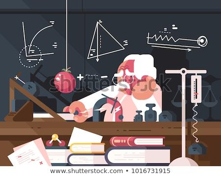 ученого физика учитель научный фон науки Сток-фото © jossdiim