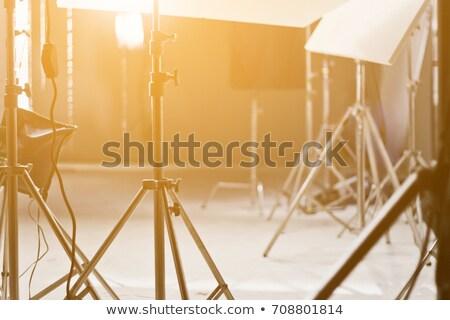 Stock photo: Studio strobe with softbox