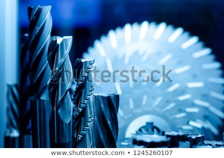 circular saw and broach Stock photo © gewoldi