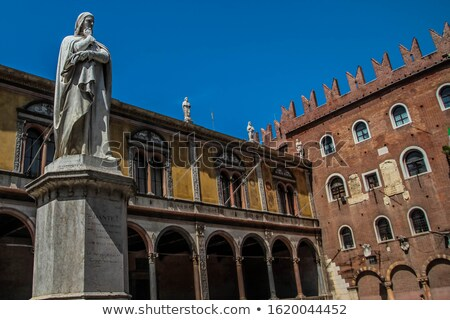 facade piazza Signoria in Verona, Italy Stock photo © vladacanon