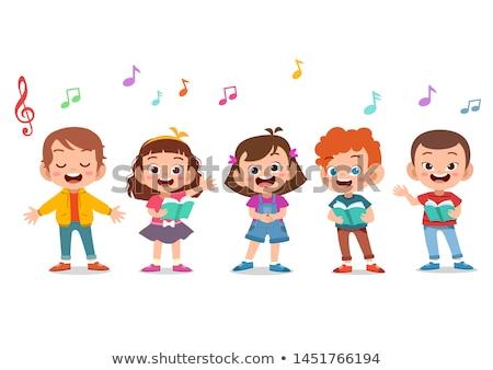 child singing Stock photo © Paha_L