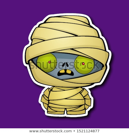 Cute Cartoon Mummy Stock photo © indiwarm