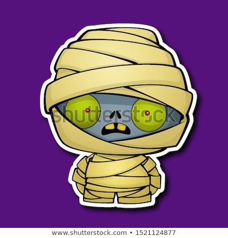 Cute Cartoon Mummy stock photo © indiwarm