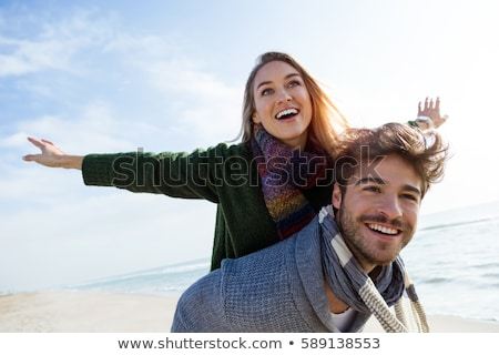 Couple enjoying a winter's day together Stock photo © photography33
