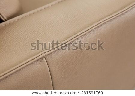 Seam on leather product Stock photo © Taigi