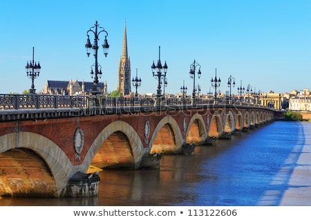 Bordeaux old city Stock photo © smithore