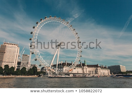 Arichitecture of London Eye Stock photo © vichie81