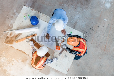 Architect and foreman collaborating on project Stock photo © photography33