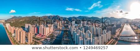cidade · Hong · Kong · cidade · não · urbano · árvore - foto stock © paulwongkwan