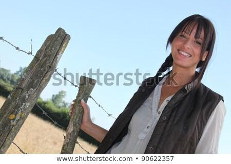 カワセミ · 女性 · 木製 · ポスト · 鳥 · アフリカ - ストックフォト © photography33