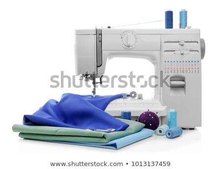 швейные машины изолированный белый домой промышленности машина Сток-фото © shutswis