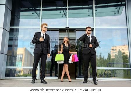 bodyguard protects the woman Stock photo © Andriy-Solovyov