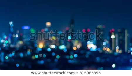 USA stadslichten communie afbeelding licht wereld Stockfoto © ixstudio