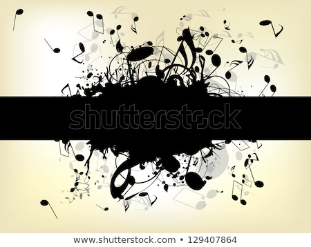abstract summer background with musical instument Stock photo © rioillustrator