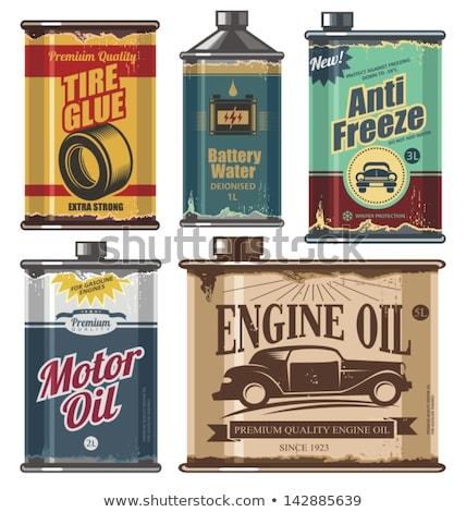 Motor oil can Stock photo © doupix