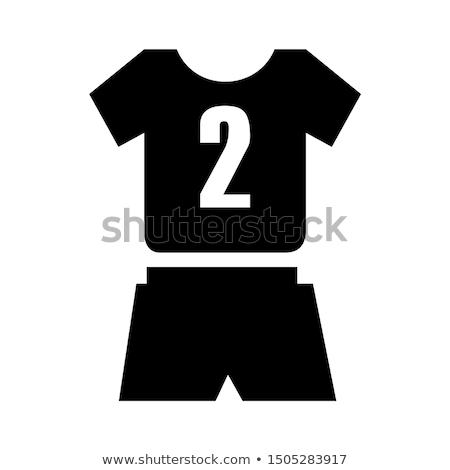 Vector icon sport uniform Stock photo © zzve