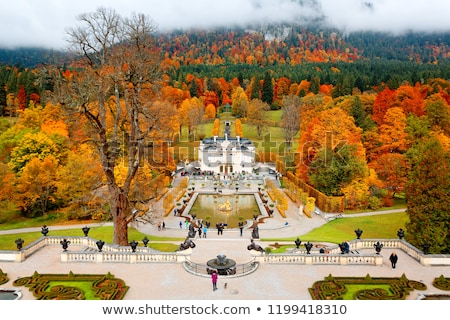 fountain at castle linderhof stock photo © magann
