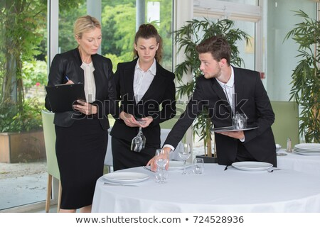 Woman supervising work Stock photo © photography33