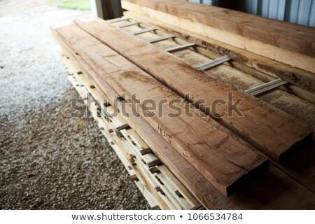 грубо · Cut · древесины · пиломатериалов · тонкий - Сток-фото © pixelsnap
