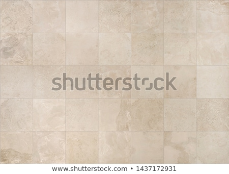 Stock photo: Ceramic tiles texture. Beige mosaic ceramic tiles for wall or fl