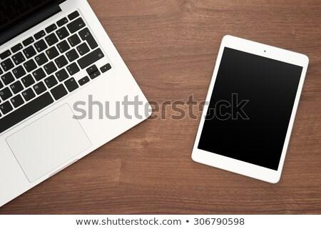 Desktop · календаря · красный · текста · белый - Сток-фото © tashatuvango