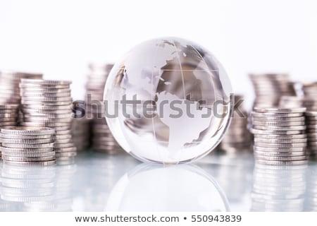 Money box with globe of world Stock photo © jarin13