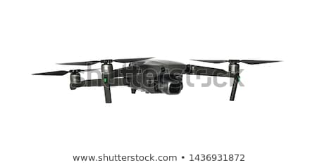 flying drone with camera new technology Stock photo © goce