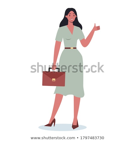 Businessman  showing okay sign Stock photo © stockyimages