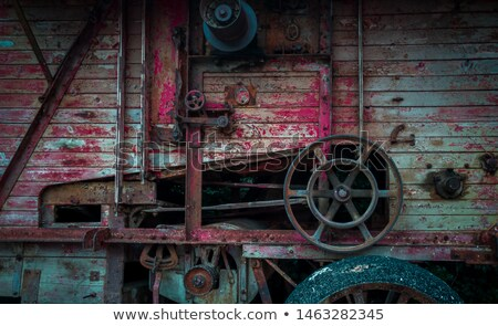 red thresher detail Stock photo © tony4urban