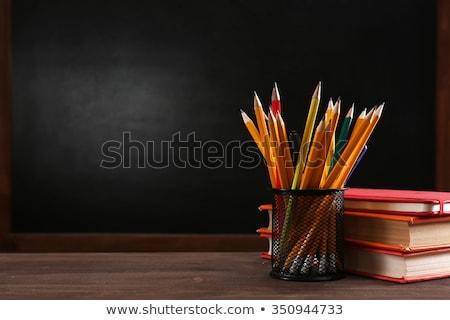 School equipment with slate Stock photo © Studio_3321