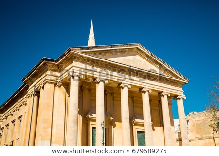 saint pauls anglican cathedral in valletta malta stock photo © anshar