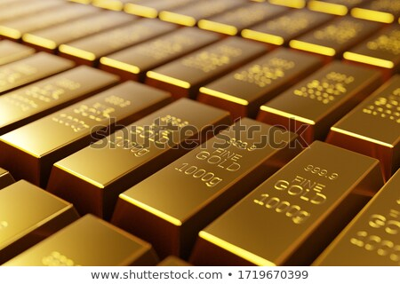 Gold bars with selective focus Stock photo © creisinger