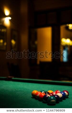havuz · tablo · 3d · render · bilardo · masası - stok fotoğraf © travelphotography