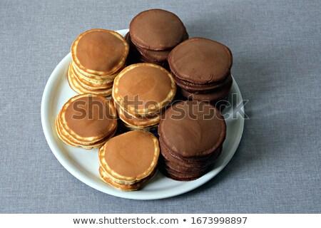 stack of plain chocolate stock photo © Rob_Stark