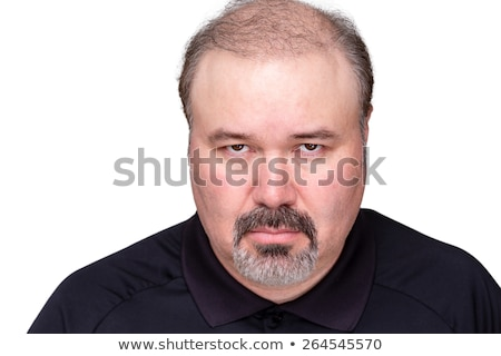 Sombre looking middle-aged man Stock photo © ozgur