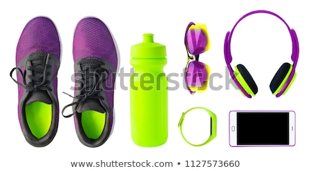 Set of shoes isolated on the white background Stock photo © Elnur