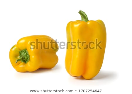 red and yellow sweet peppers stock photo © mady70