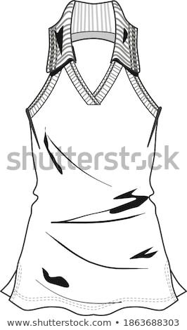 Lady in dress Stock photo © Novic