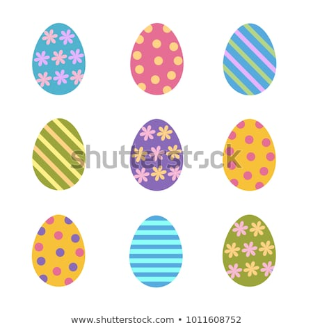 assorted easter eggs Stock photo © lienkie