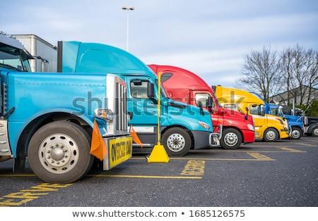 A heavy hauler Stock photo © bluering