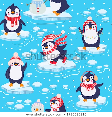 kış · dondurulmuş · deniz · buz · bloklar · soğuk - stok fotoğraf © klinker