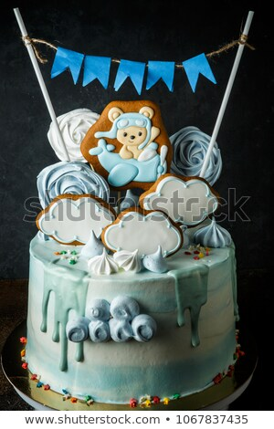 Cake with a zephyr Stock photo © restyler
