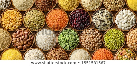 variety of cereal and lentils Stock photo © M-studio