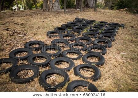 загрузка лагерь трава природы фитнес Сток-фото © wavebreak_media