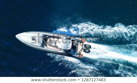 Sportu motorówka narciarskie jet morza projektu Zdjęcia stock © sahua