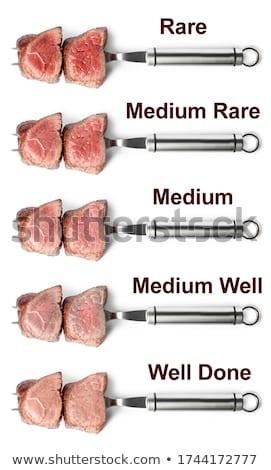 準備 食べる 肉 ステーキ グリル 火災 ストックフォト © romvo