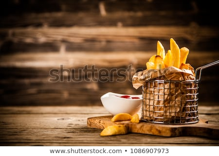 French fries serving Stock photo © rogistok